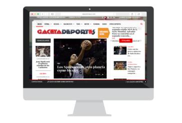 Gaceta Deportes Sports Site